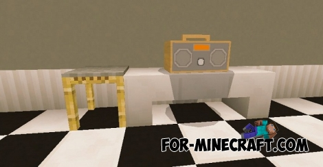 Boombox addon for Minecraft BE 1.8/1.9