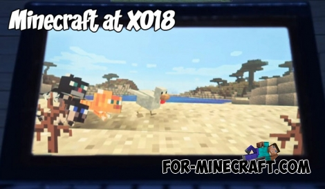 Minecraft at X018 and Cats & Pandas