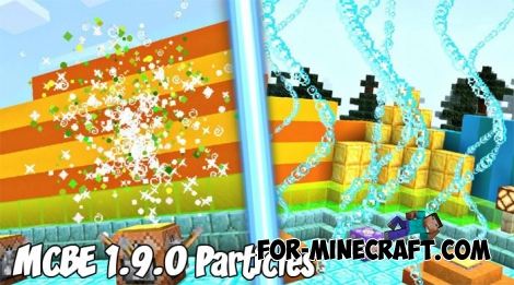 Minecraft BE 1.9.0 Particles map