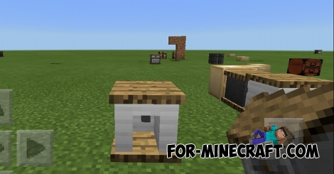 Coffee Workshop PE mod for Minecraft BE