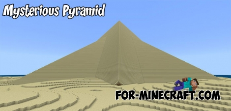 Mysterious Pyramid map for MCBE 1.9+