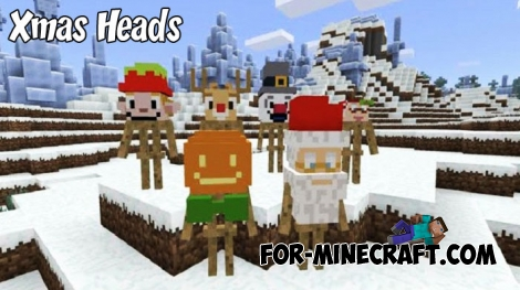 Xmas Heads for Minecraft 1.9