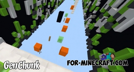 GenChunk map for Minecraft BE 1.9+