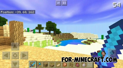 GSPE shader for Minecraft BE 1.7/1.9