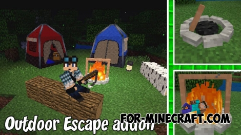 Outdoor Escape addon for MCBE 1.9+