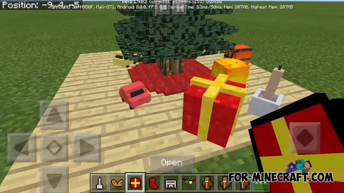 Christmas Minecraft Decorations.New Christmas Addon For Minecraft Pe 1 9