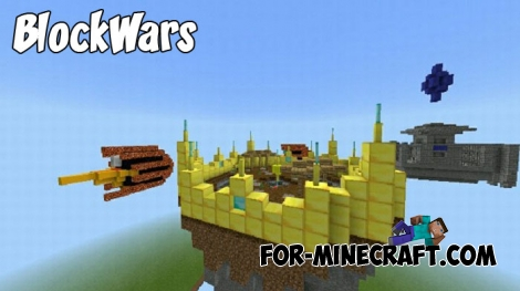 BlockWars map for MCPE 1.9