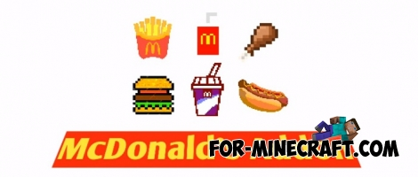 McDonald's Add-on for Minecraft PE 1.9
