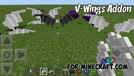 V-Wings Addon for Minecraft PE 1.9.0.3