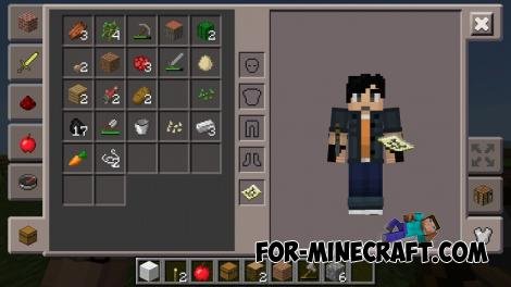 Old Pocket UI for Minecraft PE 1.7/1.9