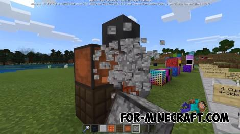 Creative Additions Texture Pack for MCPE 1.7/1.9