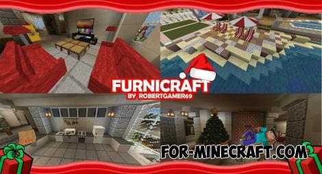 FurniCraft addon for Minecraft PE 1.9+