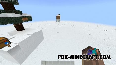 Xmas SkyBlock map for Minecraft PE 1.9