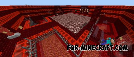 SkyRealm Prisons Map for Minecraft PE 1.7/1.9