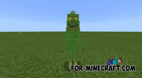 The Grinch Addon (MCPE 1.9)
