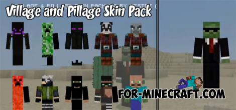 Village & Pillage Skin Pack for Minecraft PE