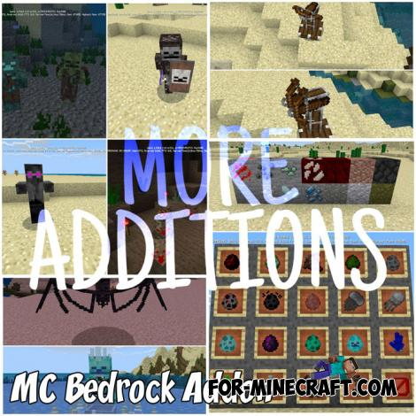 MC Bedrock Addon for Minecraft PE 1.9