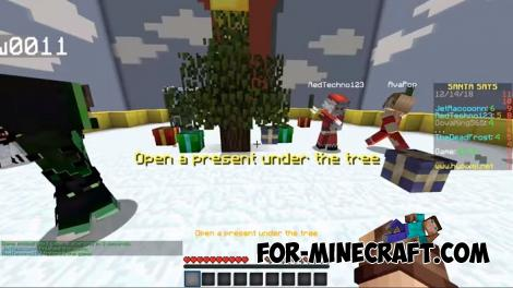 TOP Christmas Skin Pack for MCPE 1.X