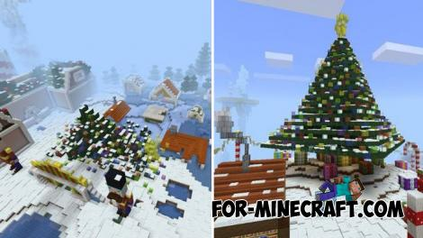 Xmas Battle Royale Map for Minecraft PE
