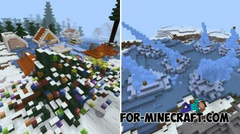 Xmas Battle Royale Map for Minecraft PE 1.9