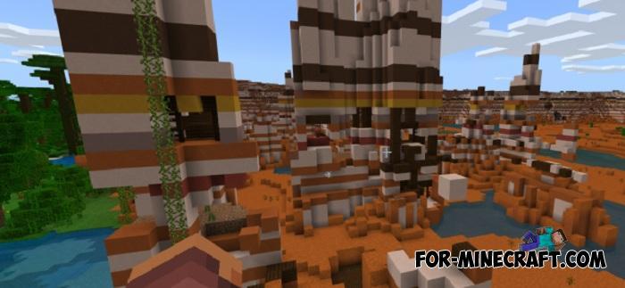 Jungle Village Seed for Minecraft PE 1 9+