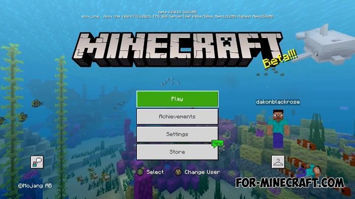 Minecraft Xbox One Shader