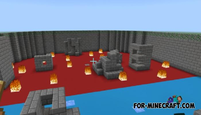 PvP Arena Maps for Minecraft PE 1 8 1/1 9 0 5