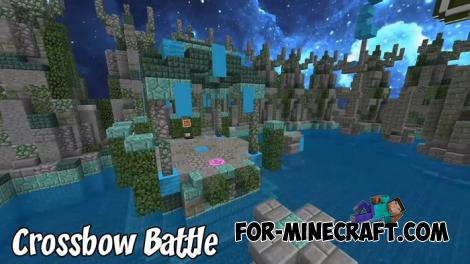 Crossbow Battle Map for MCPE 1.9.0.3+