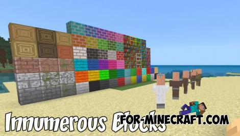 Innumerous Blocks Addon for MCPE 1.8/1.9.0.3