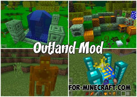 Outland Mod for Minecraft PE