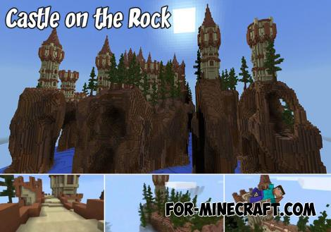 Castle on the Rock Map for MCPE