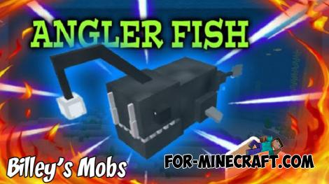 Billey's Mobs (Underwater Creatures) Addon for MCPE