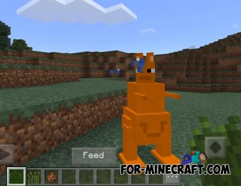 Kangaroos Addon for Minecraft PE