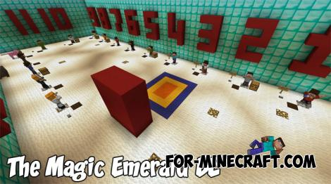 The Magic Emerald BE Map for MCPE