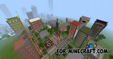 District City for Minecraft PE 1.9.0.5