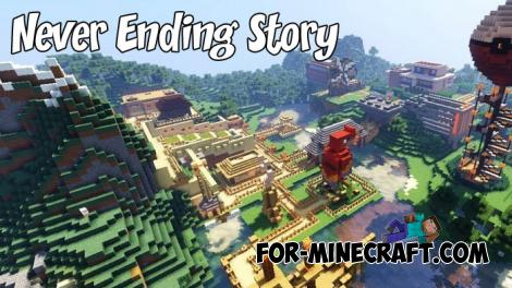 Never Ending Story Map for MCPE 1.9+