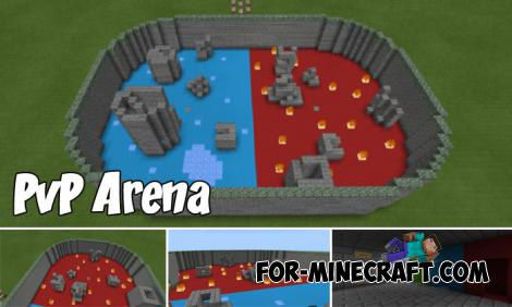 PvP Arena Maps for Minecraft PE 1.8.1/1.9.0.5