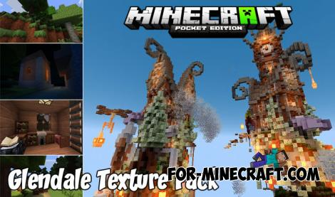 Glendale Texture Pack for Minecraft PE 1.8/1.9