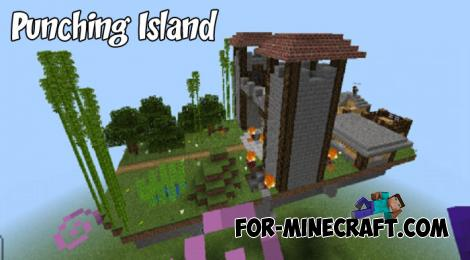 Punching Island Map for Minecraft PE