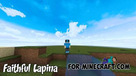 Faithful Lapina Texture + Shader for MCPE 1.8/1.9