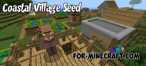 Coastal Village Seed for MCPE