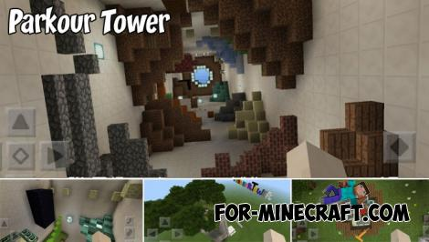 Parkour Tower Map for MCPE 1.9