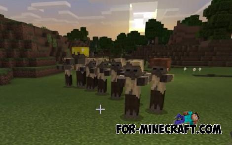 Dangerous Mobs Addon for Minecraft PE