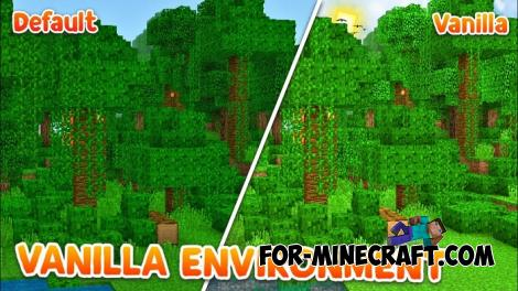 Vanilla Environment Shader for MCPE 1.8.1/1.9.0.5