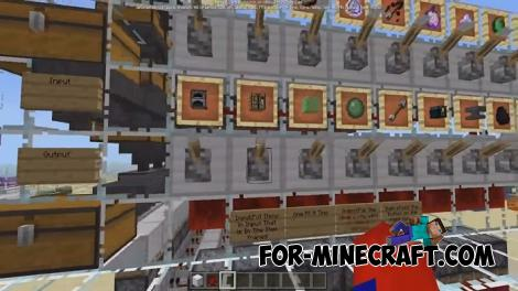Smart House Mechanisms for MCPE