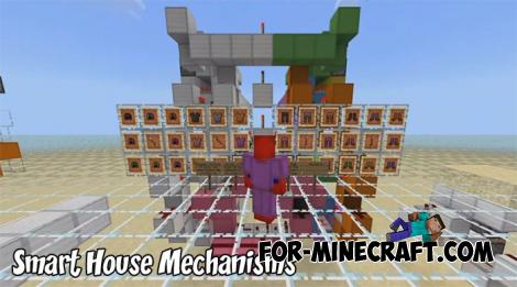 Smart House Mechanisms for MCPE 1.9+