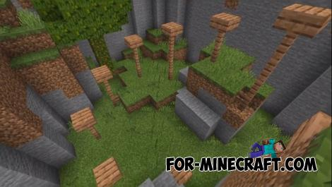 Button Mega Puzzle Map for MCPE
