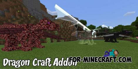 Dragon Craft Addon for Minecraft PE