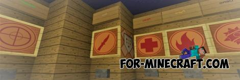 TF 2 Control Point Map for MCPE 1.9/1.10