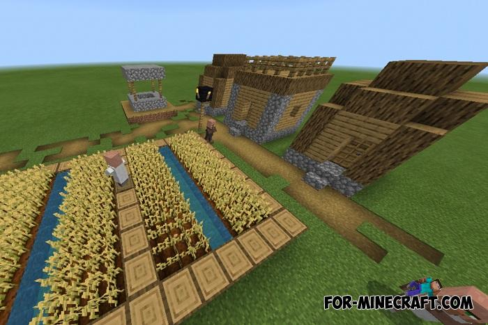 Structures Generator Addon v1 1 1 for Minecraft PE 1 11